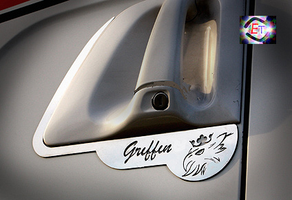 Scania Handle Profile Logo Griffin;